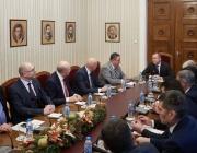 Президентът на среща с Камарата на строителите: Доверието на обществото няма да бъде спечелено с протести