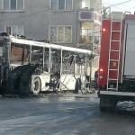 Автобус изгоря във Велинград