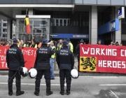 Сблъсъци с полицията в Брюксел заради мигрантите