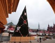 Първите коледни елхи в Русия са инсталирани в края на 16-и век