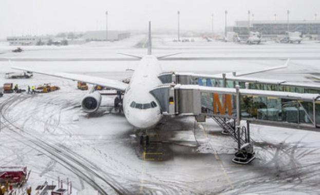 Стачка блокира въздушния трафик в Германия
