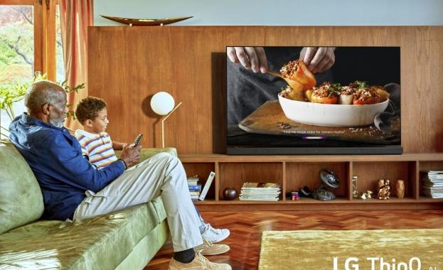 Новите телевизори на LG работят със системи за изкуствен интелект и интелигентни процесори