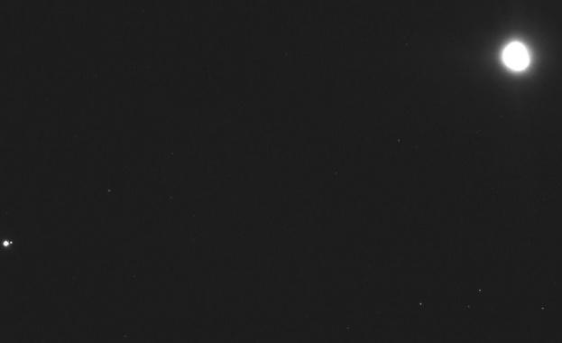 НАСА засне Земята от 110 милиона километра