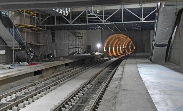 Снимка: Tретият лъч на метрото се отлага за февруари 2020 г.
