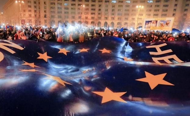 Стартът на Румънското европредседателство ще се запомни със срив на леята