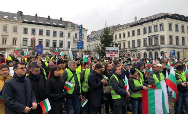 Европейският парламент отхвърли исканията на българските превозвачи