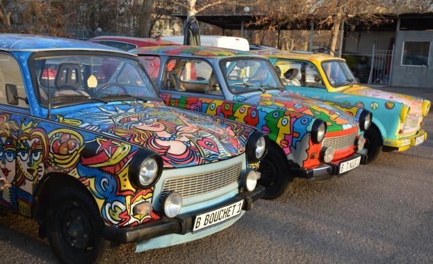 Пловдивчани първи ще празнуват падането на Берлинската стена (снимки)