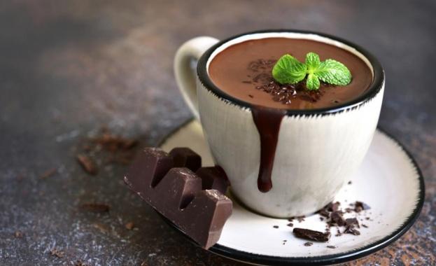 Горещ шоколад - най-добрата напитка за студеното време