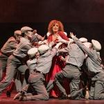 Люси Дяковска влиза в ролята на изкусителка в първата за България танго опера  (снимки)