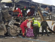 Адска катастрофа между два автобуса в Боливия. Най-малко 22 жертви