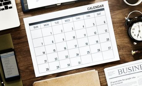Предстоящи събития на 16 септември
