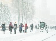 Най-обилният снеговалеж в Москва от 50 години насам