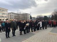 Панихида за загиналите руски войни при освобождението на Търговище