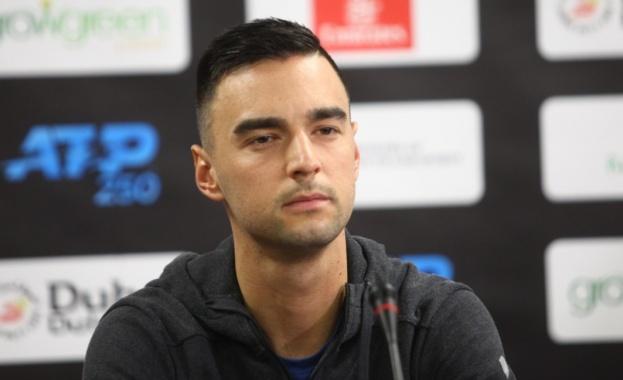 """Националът за Купа """"Дейвис"""" Димитър Кузманов се класира за четвъртфиналите"""