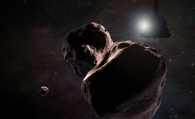 Обект в слънчевата система се оказа с форма на палачинка