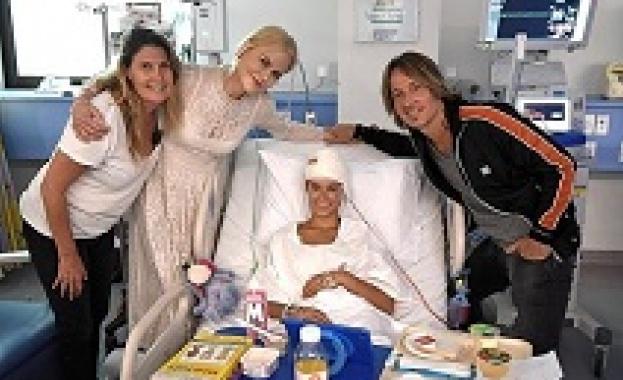 Никол Кидман изненада болни деца