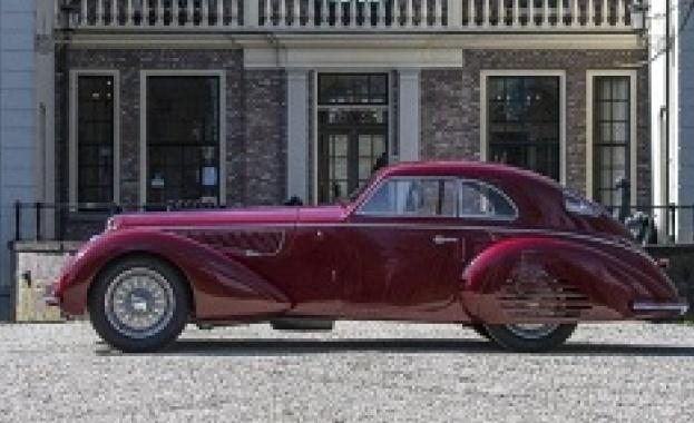 Alfa Romeo бе продадена на търг в Париж за 19 милиона долара