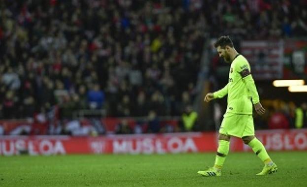 """След 364 дни """"Барселона"""" отново не успя да вкара в Ла Лига"""