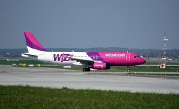Wizz Air обяви, че от днес всички полети на компанията