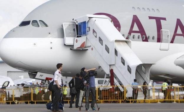 Извънредно кацане на самолет в Баку заради бомбена тревога