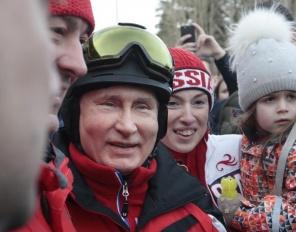 Путин и Лукашенко изненадаха туристите в Сочи
