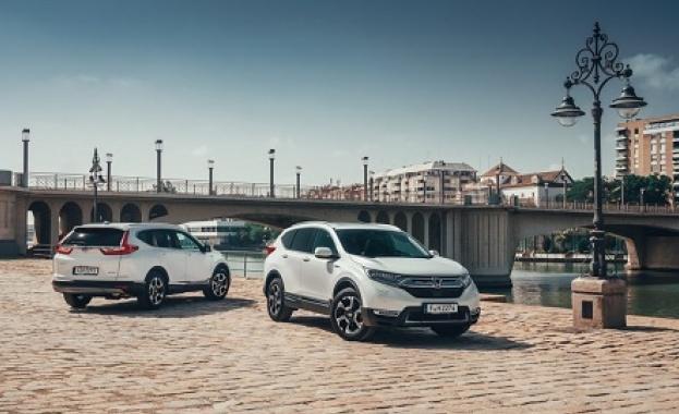 Новото поколение на Honda CR-V пристигна в България