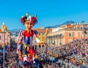 Започна карнавалът в Ница (ВИДЕО)