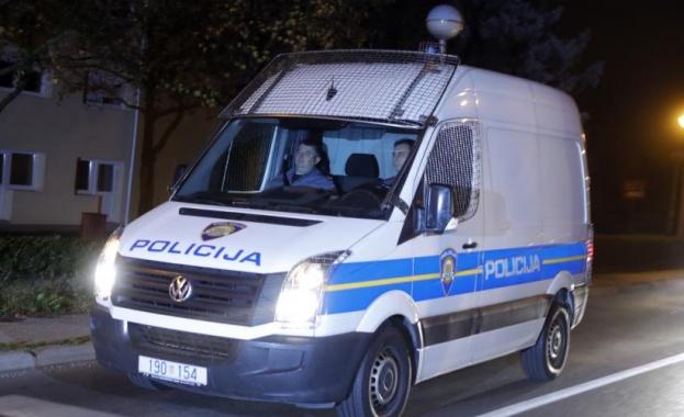 Шест души бяха застреляни снощи в къща в хърватската столица