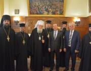 Медведев се срещна с българския патриарх Неофит (видео)