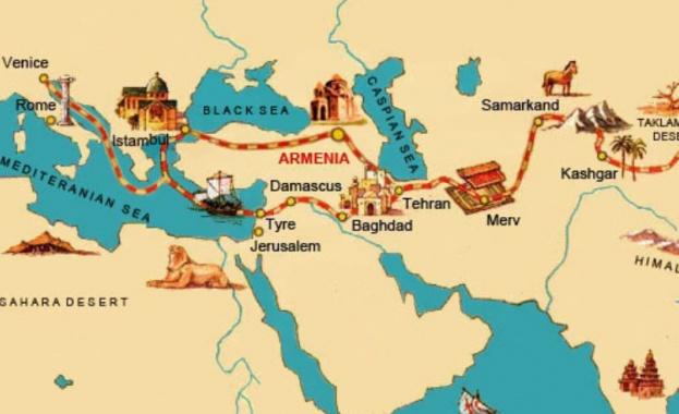 По Пътя на коприната: Търговският маршрут, създаден от номадите преди 4 хиляди години