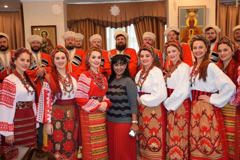 Виктор Сорокин: България, топъл казашки привет от Кубанския казашки хор (Видео)