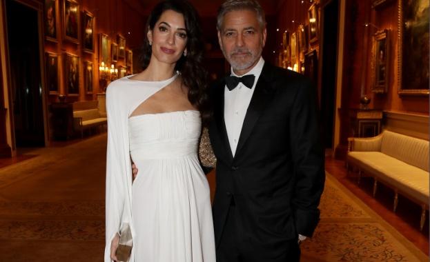 Амал Клуни, Джордж Клуни и първата им поява от доста време насам