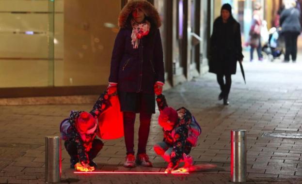В Тел Авив изпробват нови светофари за пешеходците със смартофони