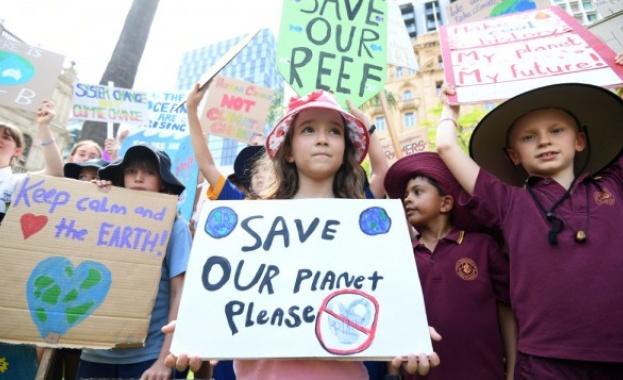 Световен ученически протест срещу промените в климата