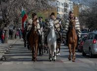 Тодоровден - майсторска езда на конни полицаи от СДВР
