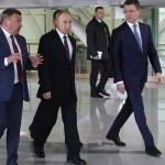 Президентът Путин пристигна в Севастопол за тържествата за петата годишнина от анексията на Крим