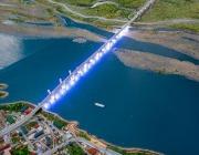 Русия и Китай съединиха моста над река Амур (видео)