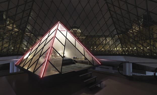 Снимка: Нощ в Лувъра