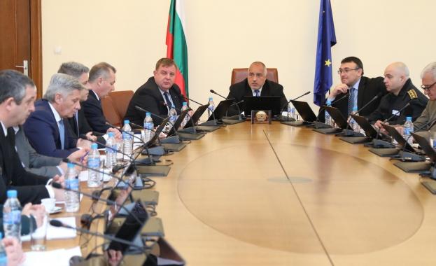 Борисов: Насищаме границата с хора и техника, за да можем да опазим държавата