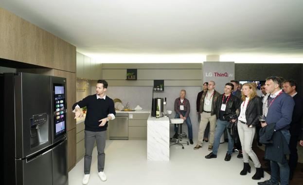 LG представя предимствата на LG Home на Innofest Europe 2019