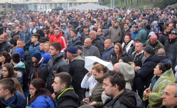 В Габрово се проведе четвъртият протест срещу агресията. Недоволството беше