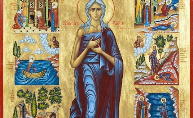 Преп. Мария Египетска. Св. Мартин, папа Римски