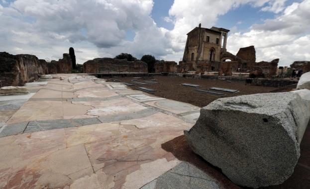 Рим отваря врата към подземния свят на разрушения дворец на Нерон