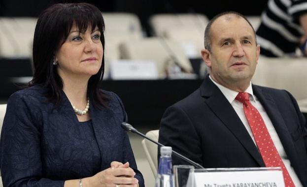 Радев и Караянчева присъстват на открито заседание на КС в Търново