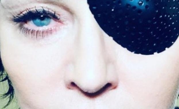 """Снимка: Мадона загадъчна като """"Madame X"""""""