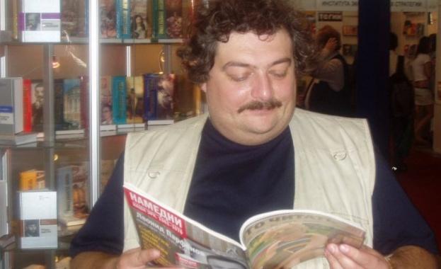 Руският писател Дмитрий Биков - един от водещите литератори на