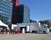 Пътуващият 5G шоурум на Huawei Roadshow пристигна в София