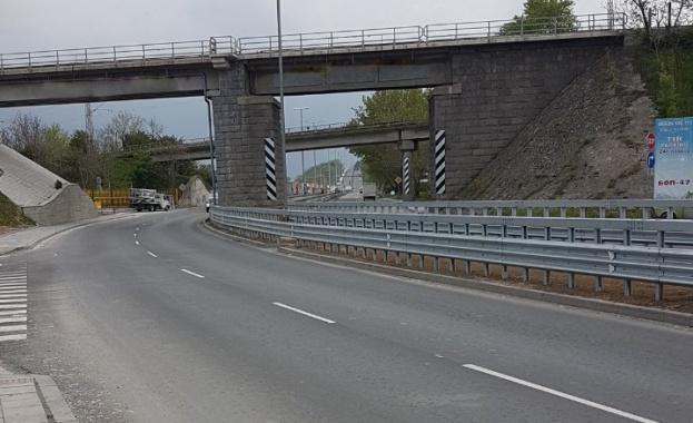 Завърши реконструкцията на път II-21 Русе - Силистра, при входа