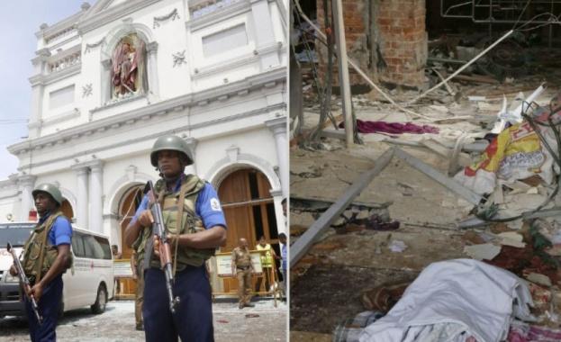 Снимка: Расте броят на жертвите в Шри Ланка
