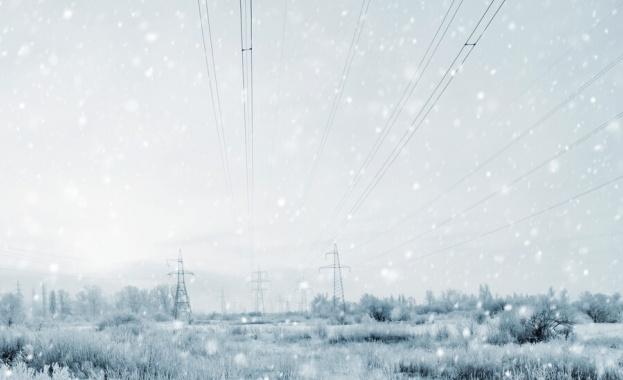 Снимка: Учени получиха електричество от снеговалеж